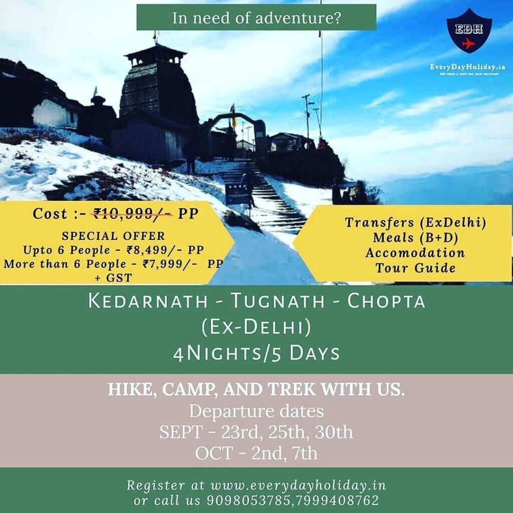 Kedarnath Trip in India Kedarnath Package Kedarnath Cheap package