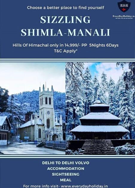 Shimla Manali Cheap Travel Package